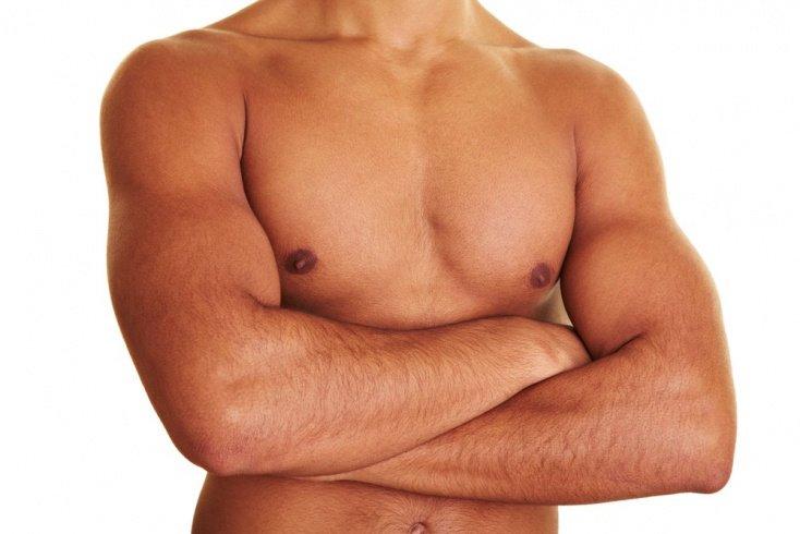 Молочные железы мужского тела