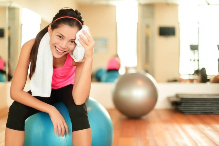 Питание и спорт — верный путь к похудению