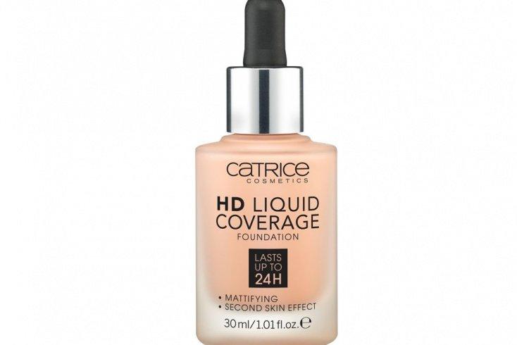 Тональная основа CATRICE HD Liquid Coverage Foundation