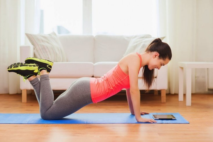 Фитнес дома для прокачки мышц рук