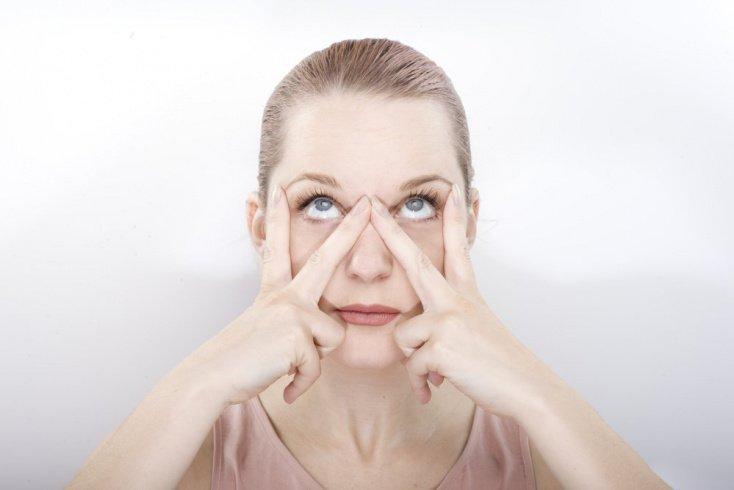 Комплекс упражнений для расслабления глаз