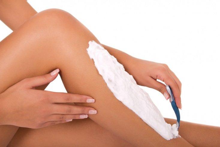 Использование крема или лосьона для бритья