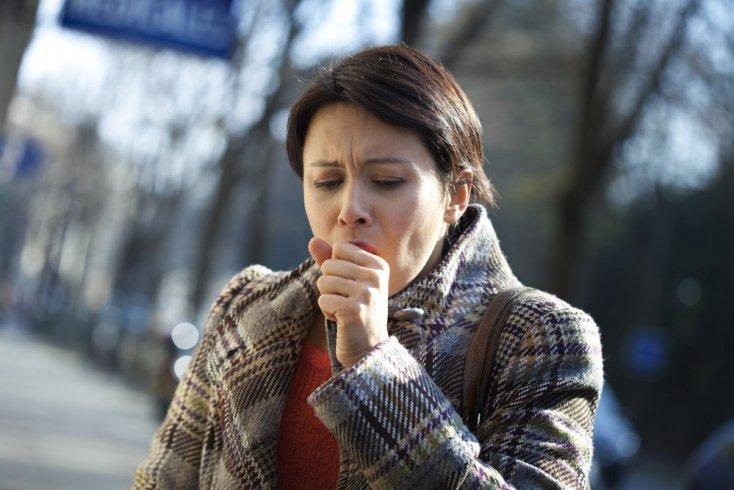 Внезапный постоянный кашель