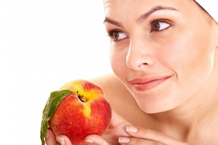 Ароматный персик для красоты и здоровья кожи