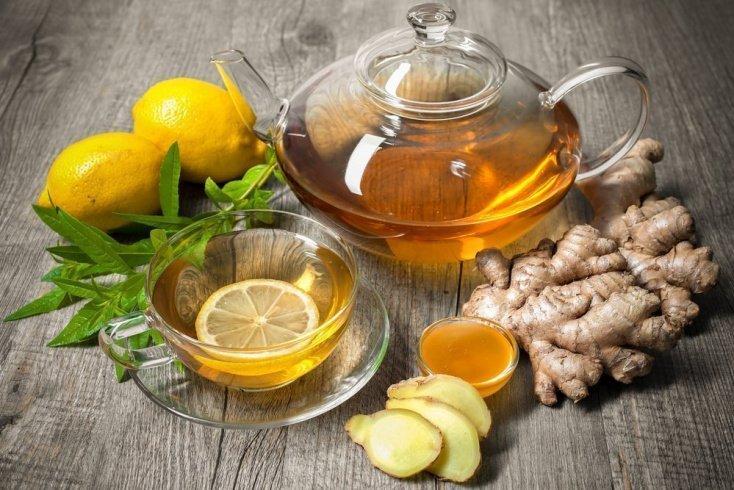 Рецепт успокаивающего имбирного чая