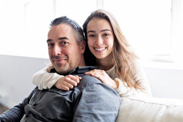 Любовь отца и отношения с мужчинами