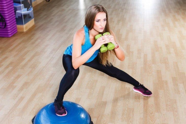 Базовые фитнес-упражнения для ног
