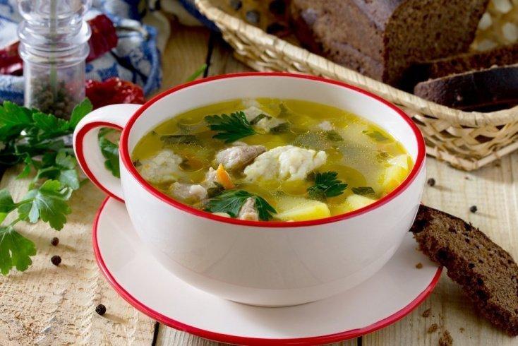 Источник белка в питании — куриный суп