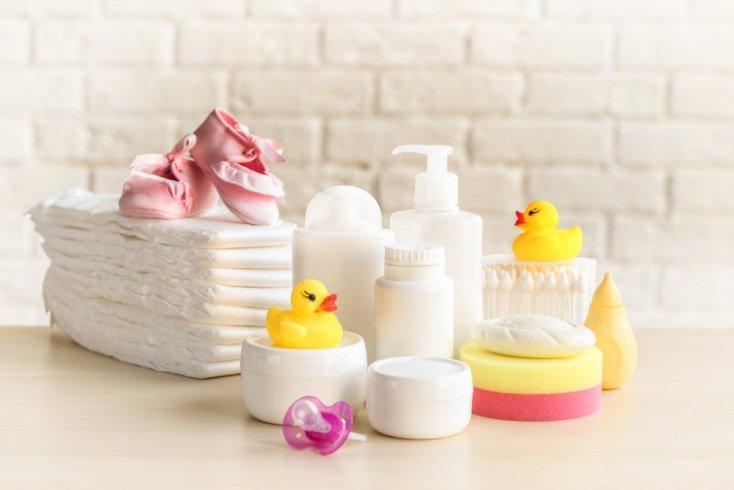 Приобрести нужные средства по уходу за малышом