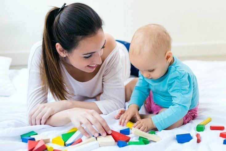 Ранее развитие детей в период от 1 до 2 лет