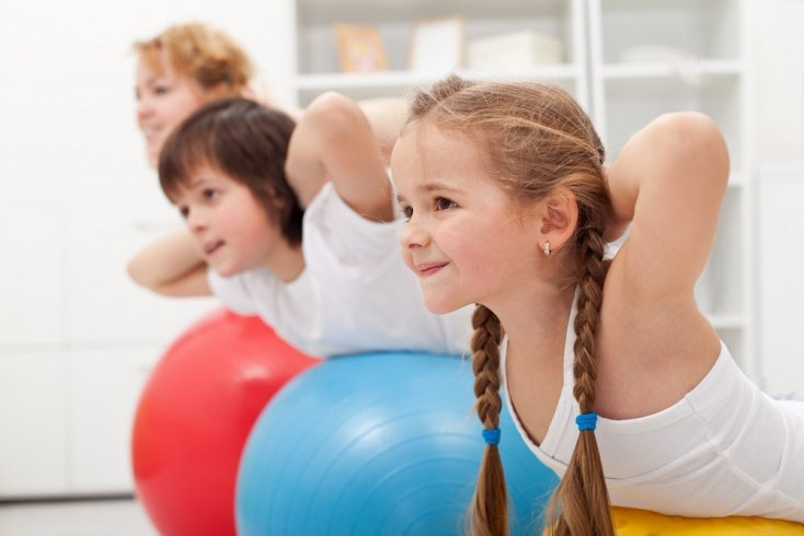Польза утренних упражнений для детей