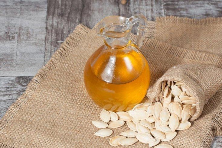 Продукт питания №4. Масло тыквенных семечек
