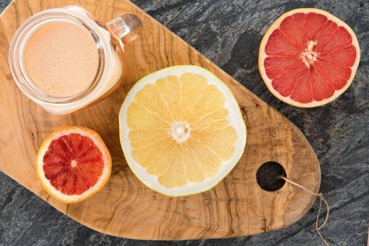 Коктейль с грейпфрутом и медом