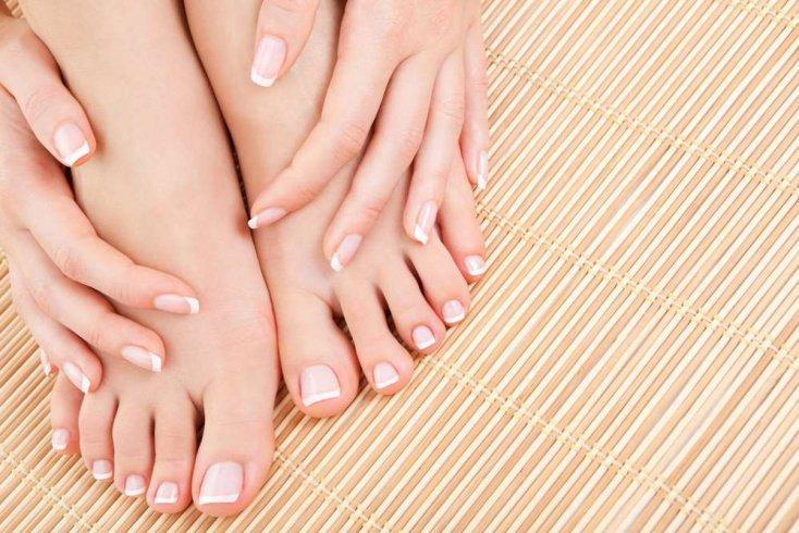 Здоровые ногти на ногах: ванночка с лавандовым маслом