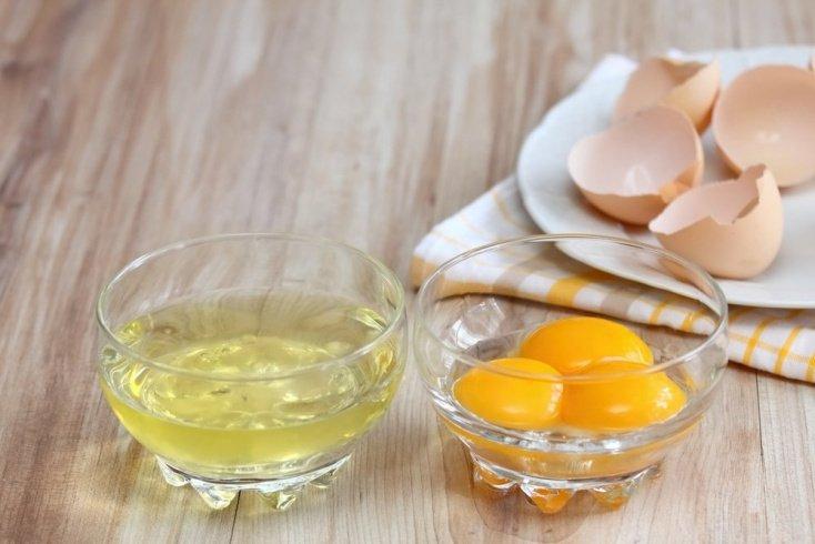 Антивозрастной уход с яичным белком
