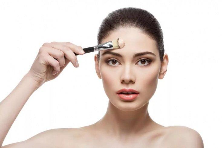 Плотный тональный крем для лица