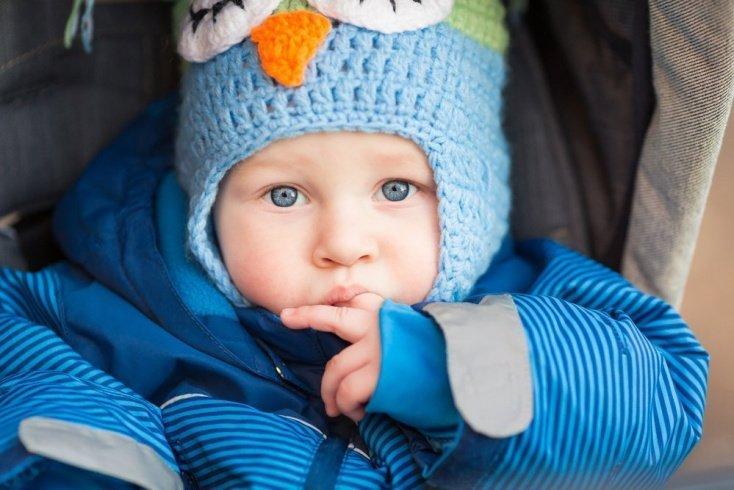 Шапка «шлем» для малыша
