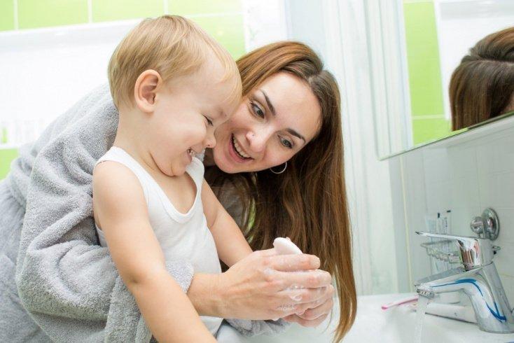 Малыш, чистота спасет от гепатита А