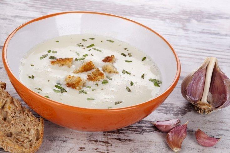 Лечебный чесночный суп