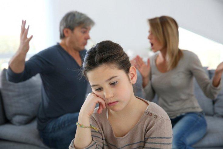 Непростые отношения между родителями