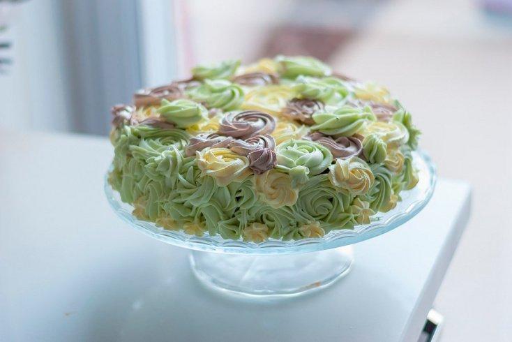 Диеты в радость: низкокалорийный сливочный торт
