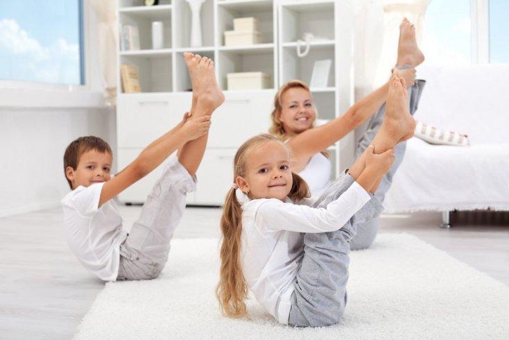 Утренние упражнения для детей