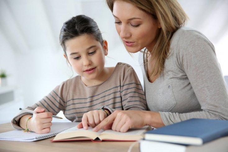 Сажайте ребенка за уроки в хорошем настроении
