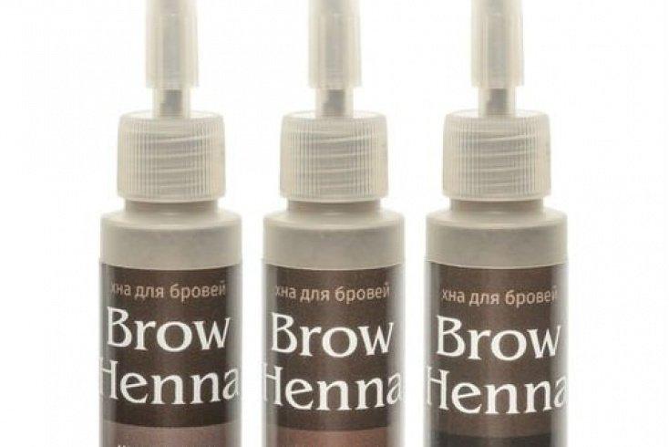 Хна для бровей Brow Henna, 6 г Источник: шилак.рф