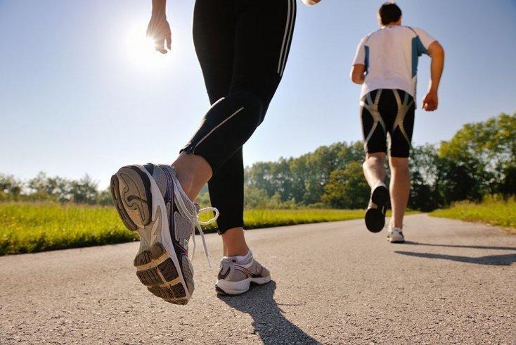 Занятия фитнесом весной: ходьба и бег